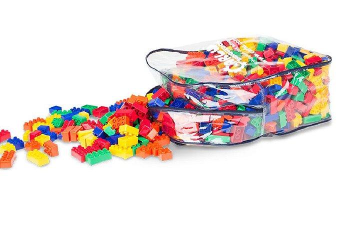 Brinquedo Educativo Monte Rápido 1.000 Peças - CARLU