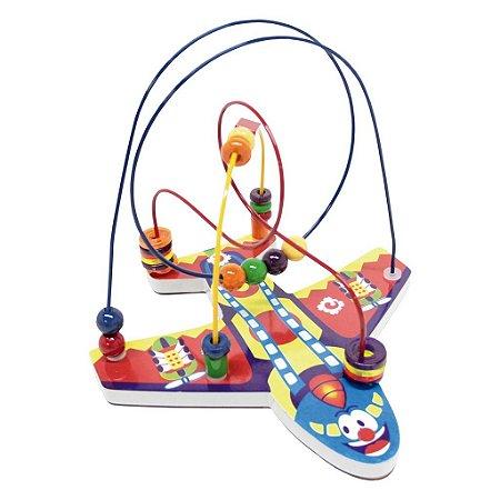 Brinquedo Educativo Aramado Aviao - CARLU