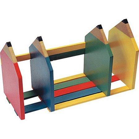Brinquedo Educativo Separador De Livros Lapis Em Mdf - CARLU