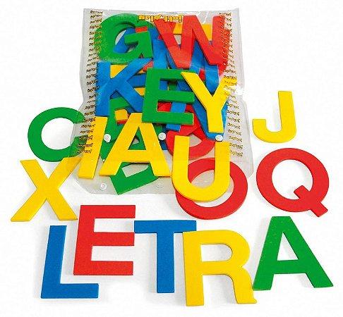 Alfabeto Móvel E.V.A. 36 Letras 10 Cm De Altura