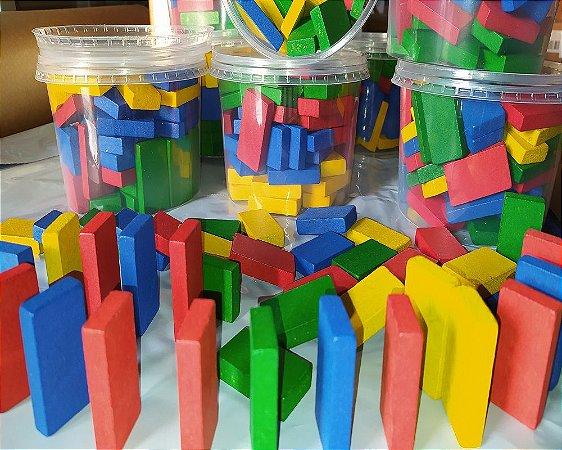 Brinquedo Educativo Dominó Mania Caixa Com 60 Peças - FUNDAMENTAL