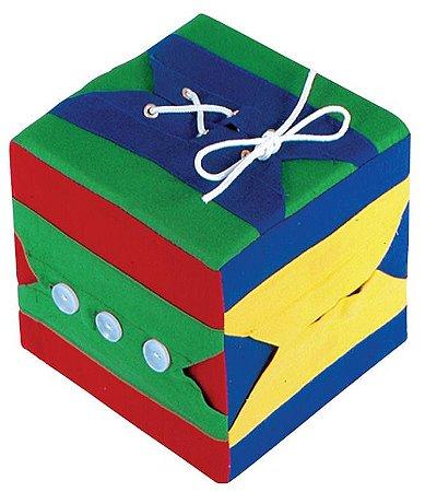 Cubo De Atividades 01 Cubo 16x16x16cm Com 06 Atividades
