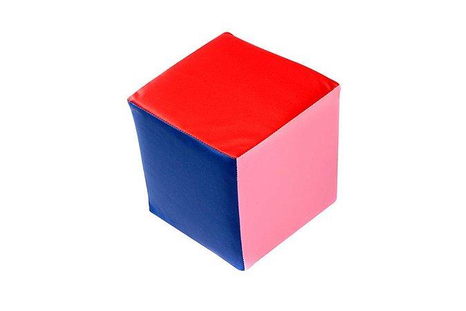 Brinquedo Educativo Cubo De Cores Med. 16 X16x16 Cm - FUNDAMENTAL