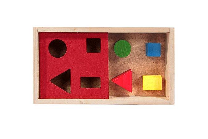 Passa Figuras Caixa Com 4 Peças