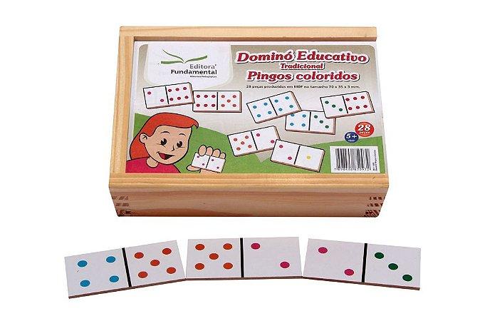 Domino Tradicional Jogo/ 28 Peças