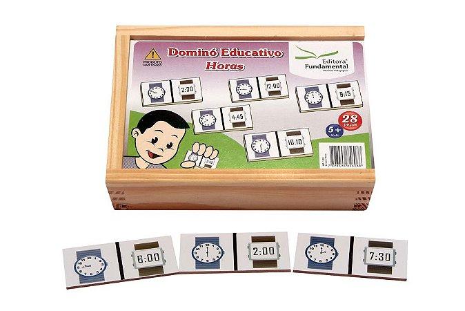 Domino Horas Jogo Com 28 Peças