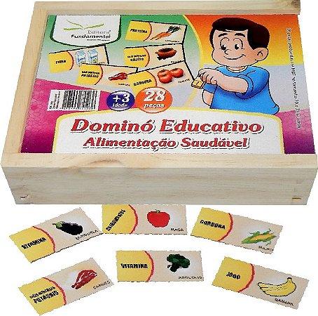 Domino Educativo Alimentaçao Saudavel