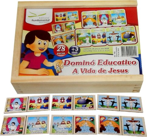 Dominó Educativo A Vida De Jesus