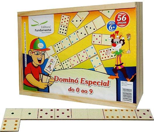 Brinquedo Educativo Dominó Especial 0 Ao 9 - FUNDAMENTAL