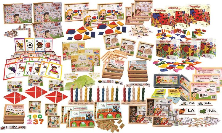 Brinquedo Educativo Kit Mec Orientaçao De Estudos E Leitura - FUNDAMENTAL