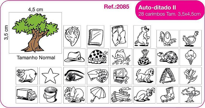 Carimbos Pedagógicos Auto Ditado Ii 28 Unidades - Fundamental