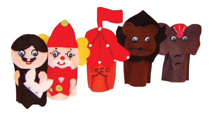 Brinquedo Educativo Dedoches Solapa Refil Circo - FUNDAMENTAL