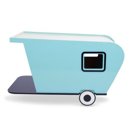 Carlu Pet House - Trailer Azul