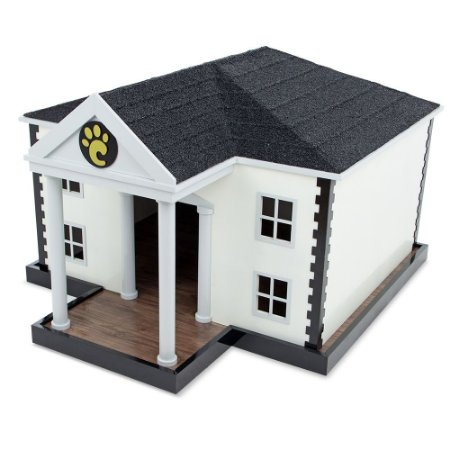 CARLU PET HOUSE - WHITE HOUSE