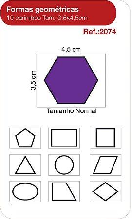 Carimbos Formas Geometricas