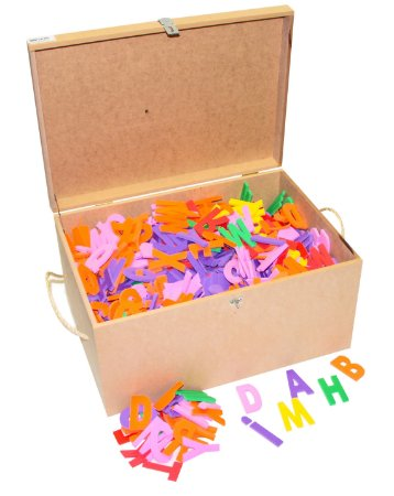 Brinquedo Educativo Maleta com 1.000 letras - E.V.A - CARLU