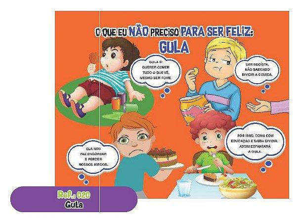 Jogo Educativo Quebra Cabeça Gigante Gula 12 Peças- Way