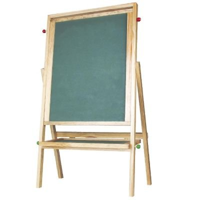 Brinquedo Educativo Quadro Giratório de Atividades madeira - CARLU