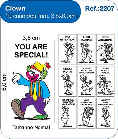 Carimbos Pedagógicos Clown - Fundamental