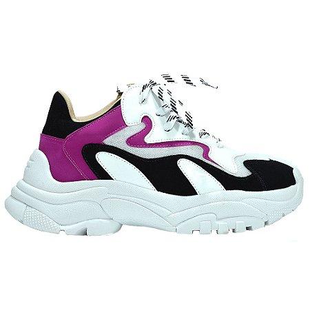 """Dad Shoe Branco/Pink/Preto """"YANI"""" by DRSKA"""
