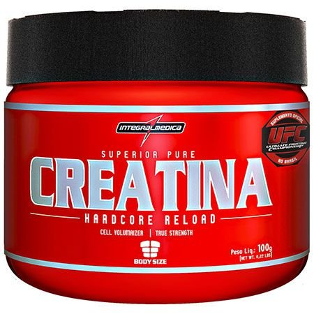 Creatina Hardcore Reload - 100g - IntegralMédica