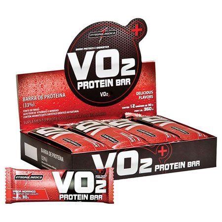 VO2 Protein Bar - 12 unidades - IntegralMedica