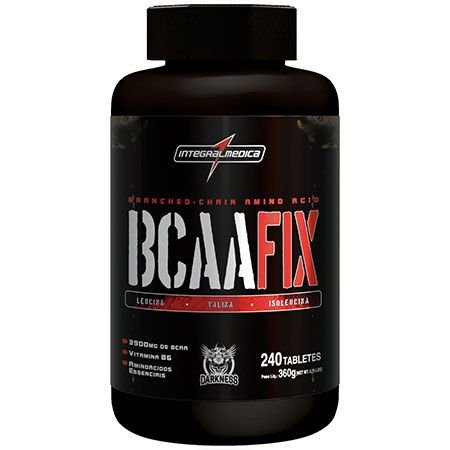 Bcaa Fix - 240 tabletes - IntegralMédica