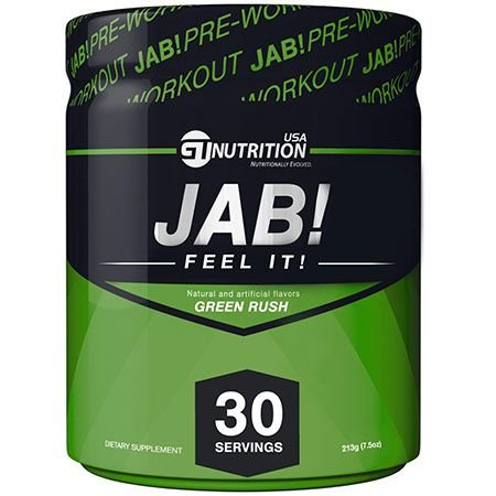 JAB! PRE-WORKOUT - GT Nutrition USA