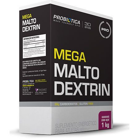 Mega Malto Dextrin - 1Kg - Probiótica