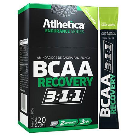 BCAA Recovery 3:1:1 - Caixa com 20 Stick de 5g - Atlhetica
