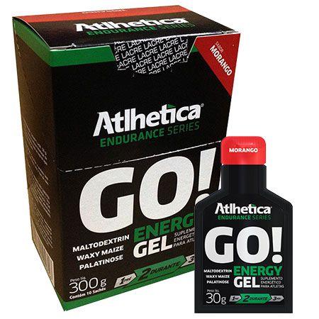 GO! Energy Gel - Caixa com 10 sachês - Atlhetica