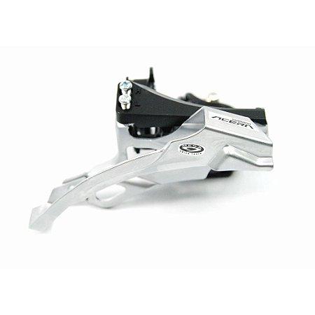 Câmbio Dianteiro 3x9 Acera FDM390 Shimano Dual Pull Reduzido