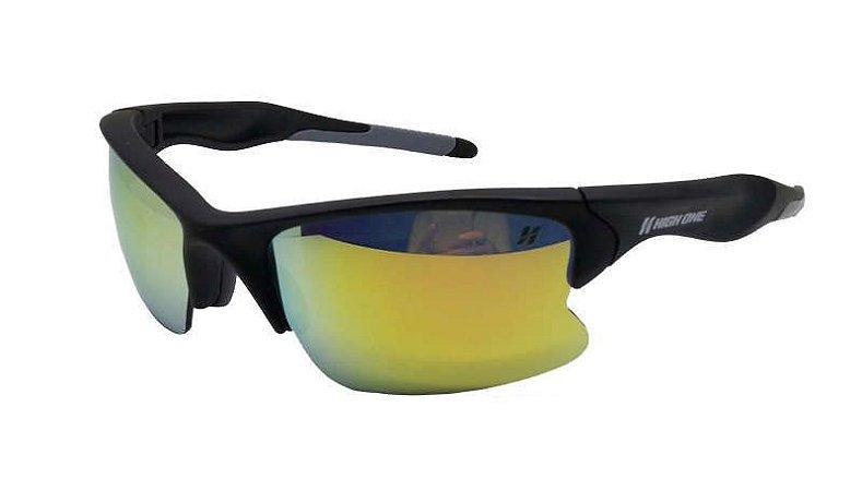 Óculos de Ciclismo High One Iron Com 3 Lentes