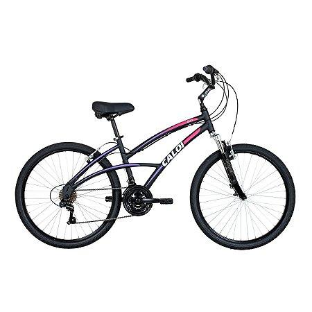 Bike aro 26 Caloi 500 Feminina 2017