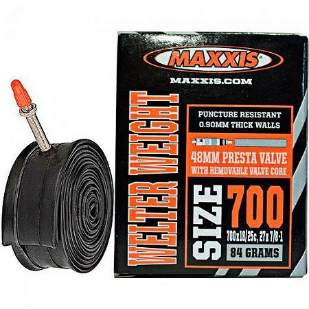 Câmara de ar 700x18/25 Maxxis Val. Presta 48mm