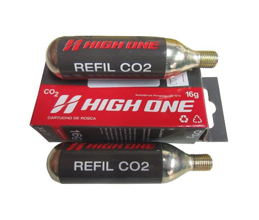 Refil CO2 Cilindro High One 16g - 2un