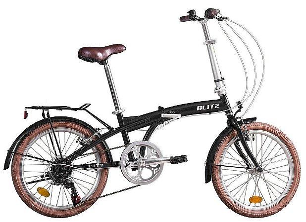 Bike aro 20 Blitz City Dobravel 6V