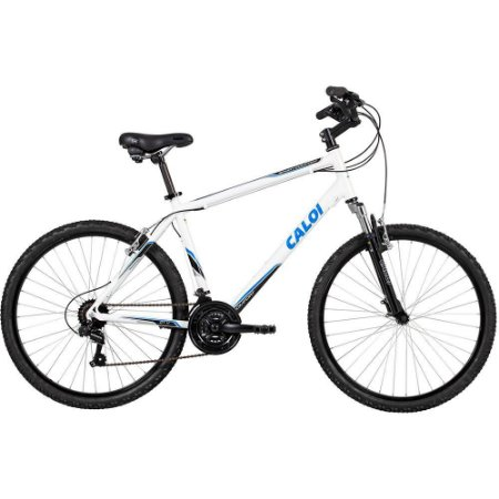 Bike Aro 26 Caloi Sport Comfort 21Vel Branca