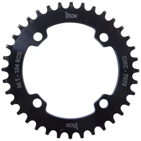 Coroa Engrenagem Iron Alumínio CNC7075 BCD104 36D