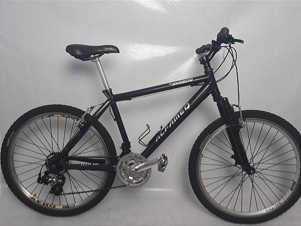 Bike Aro 26 Alfameq Tirreno Preta 21V FVB Tam. 18 Seminovo