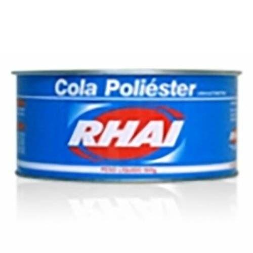 Adesivo Plástico Poliéster 900 gramas - Rhai