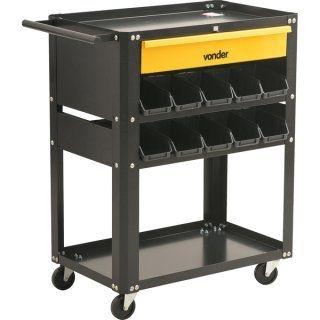 Carrinho para ferramentas, desmontável, com 20 gaveteiros, VD 1021, Vonder