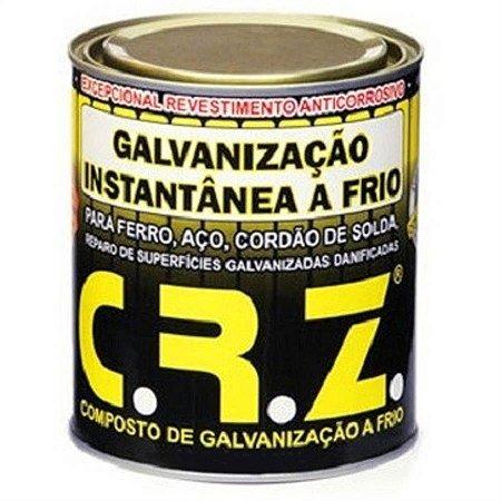 Compostos Para Galvanização A Frio 900ml (lata) Crz Quimatic