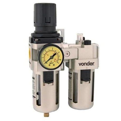 Regulador Lubrificador De Ar RL120 - Vonder