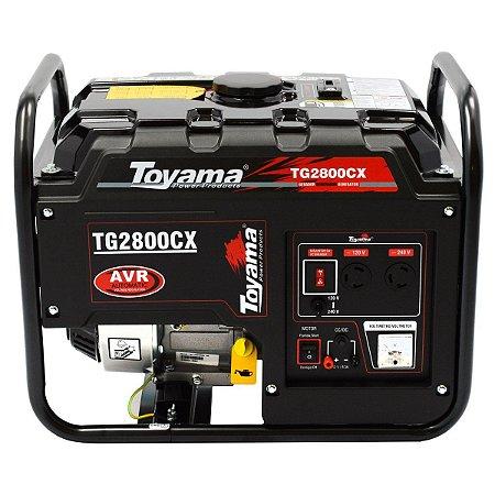 Gerador De Energia A Gasolina Bivolt 2500w TG2800CX - Toyama