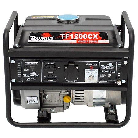 Gerador De Energia A Gasolina 1200w 127v Partida Manual - Toyama