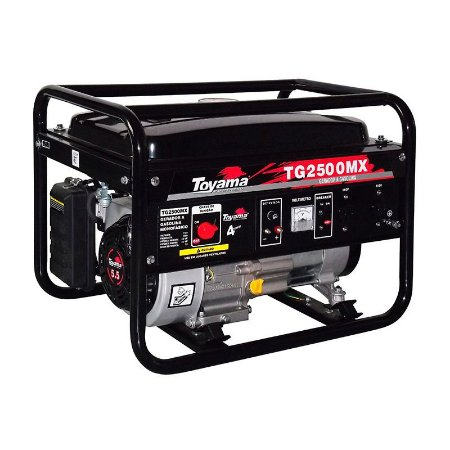 Gerador A Gasolina Ohv 2,2kva 220v 4 Tempos Tg2500mx2 - Toyama