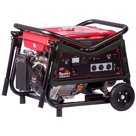 Gerador De Energia A Gasolina 6500w Bivolt Tg8000cxev - Toyama