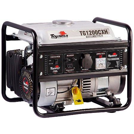 Gerador De Energia A Gasolina 1000w Tg1200cxh 127v - Toyama