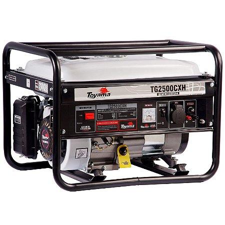 Gerador De Energia A Gasolina 2000w Tg2500cxh 220v - Toyama